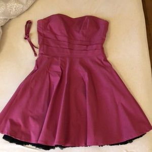 Pink Le Chateau dress